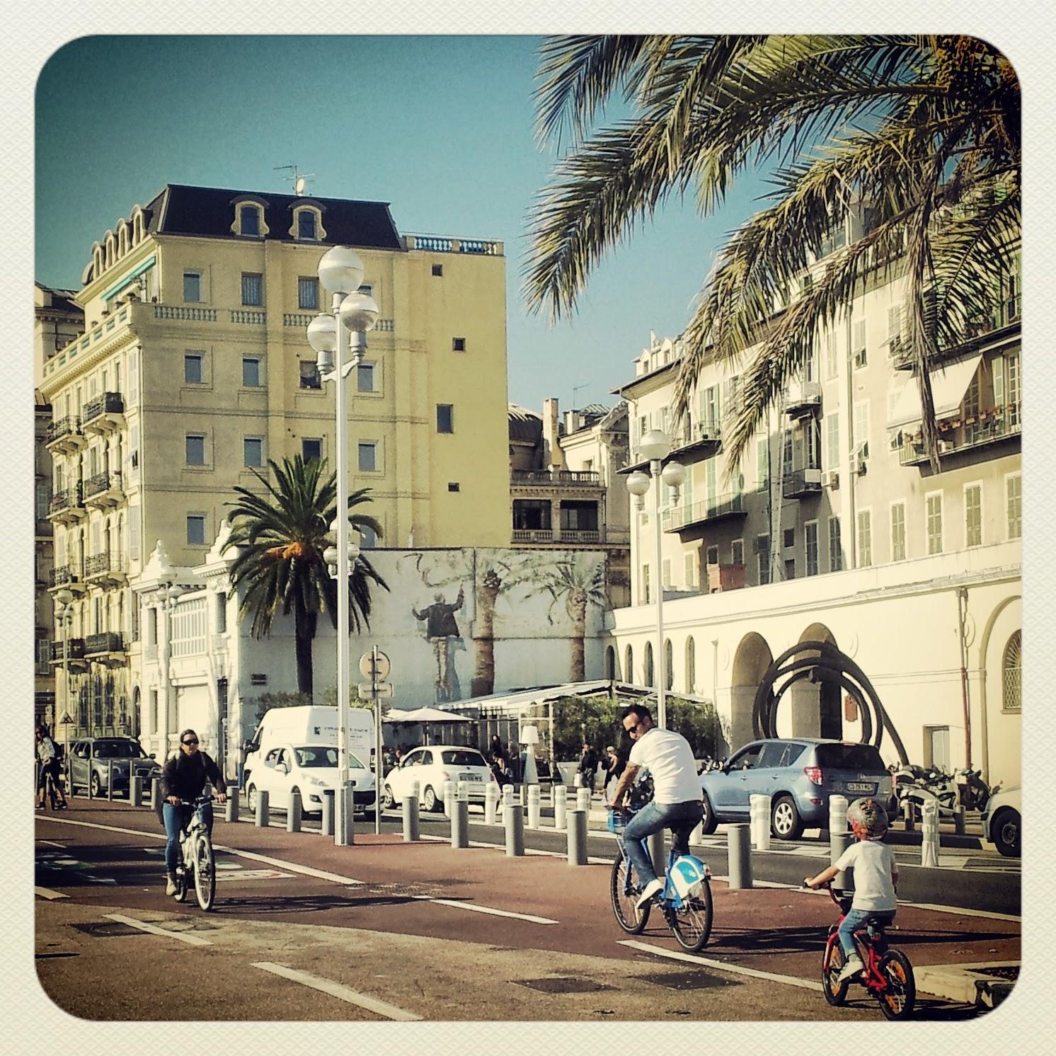 Nizza - Promenade des Anglais - Black Cat Souvenirs
