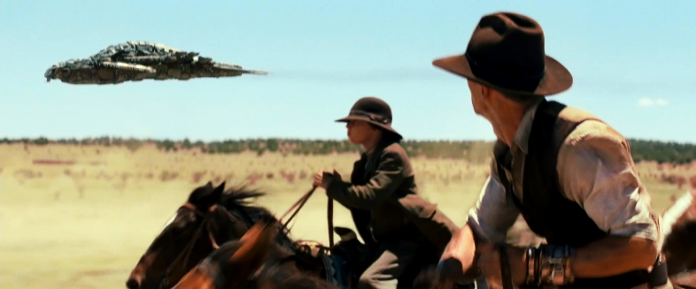 Like the movie? Buy the book.: Cowboys & Aliens. Behind ... Cowboys And Aliens Alien Ship