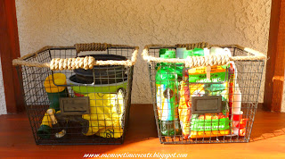 Wire Baskets for gardening tools at One More Time Events.com