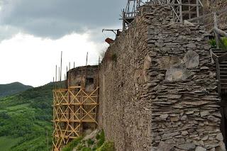 Cetatea Deva-Turnul semicilindric - Bastionul Batlen