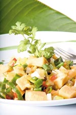 Ensalada de Platano Verde