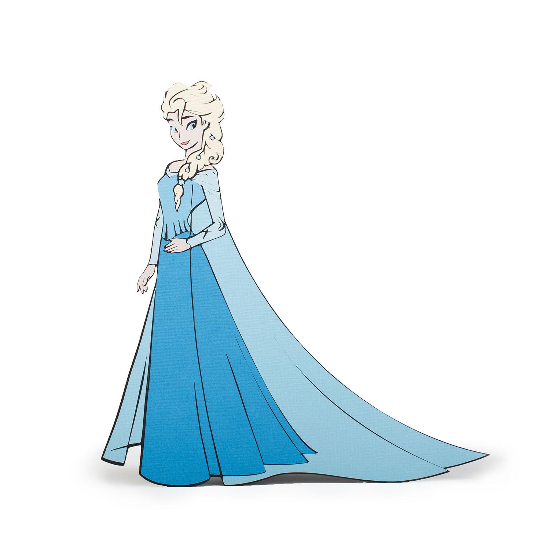 Elsa cut file from Cricut
