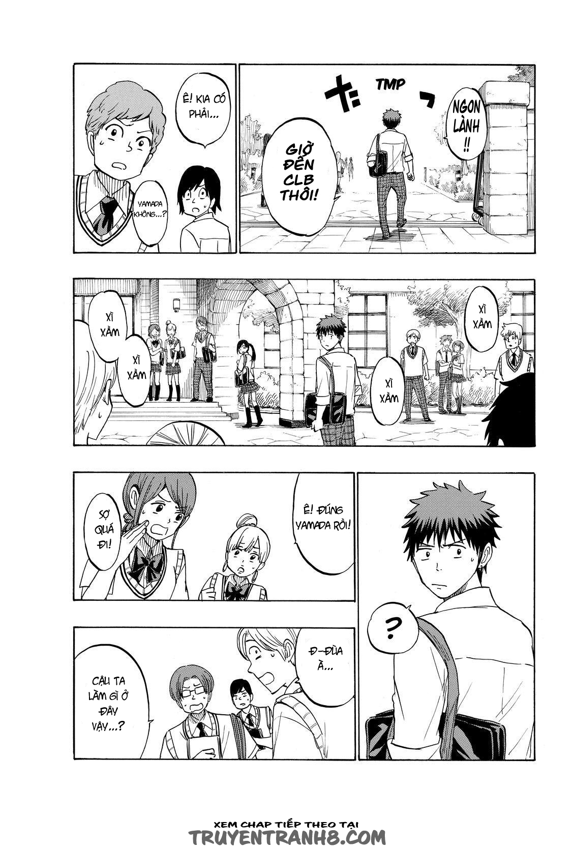Yamada kun to 7 nin no Majo Chap 224 - Trang 11