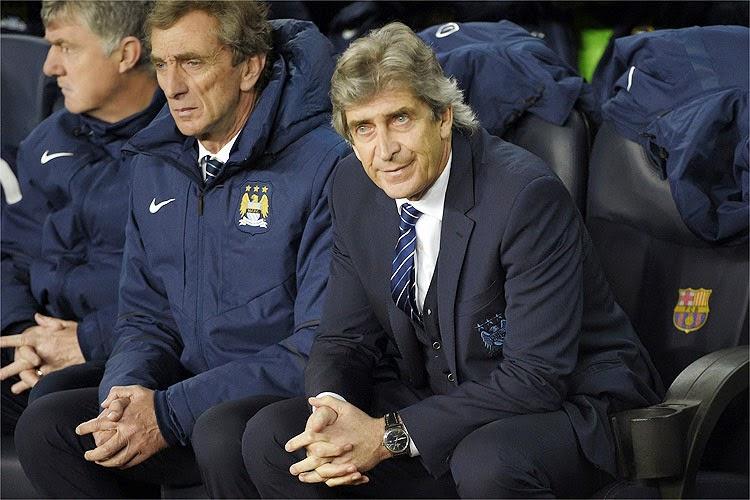 Eliminação na Liga dos Campeões pode custar cargo de Manuel Pellegrini no Manchester City