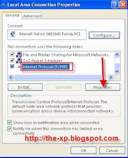Cara Mudah Mengganti DNS di Windows XP