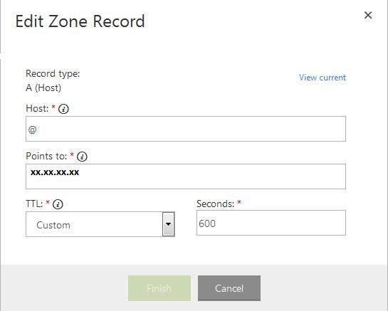 zone record