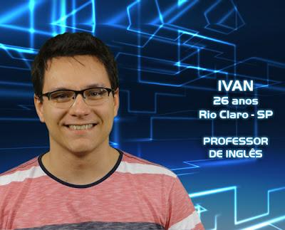 Lista de participantes do BBB 13 - Ivan - Rio Claro SP - Flagras - Fotos