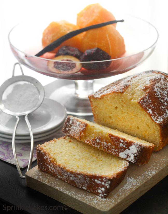 Orange Yogurt Loaf Cake | Sprinkle Bakes