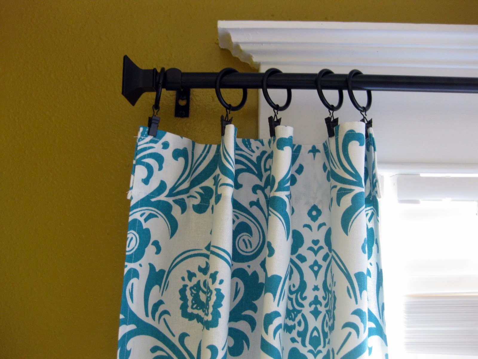 Nursery the curtains sawdust and embryos - Turquoise and yellow curtains ...