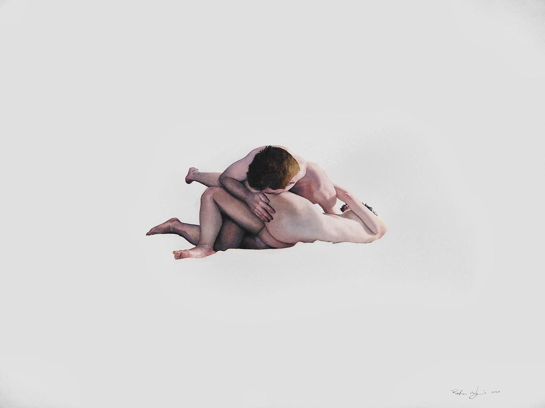 ©Reuben Negron - The Embrace. Ilustración | Illustration