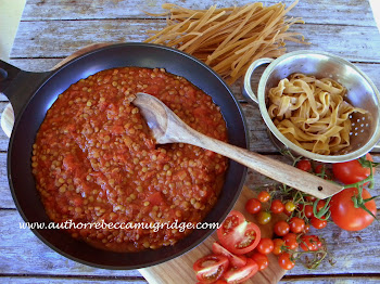 Hearty Lentil and Tomato Pasta Sauce