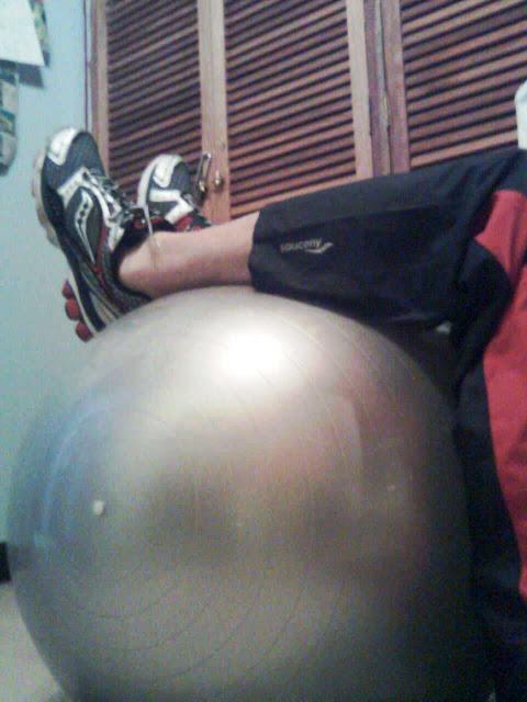 Entrenamiento de piernas y abdomen