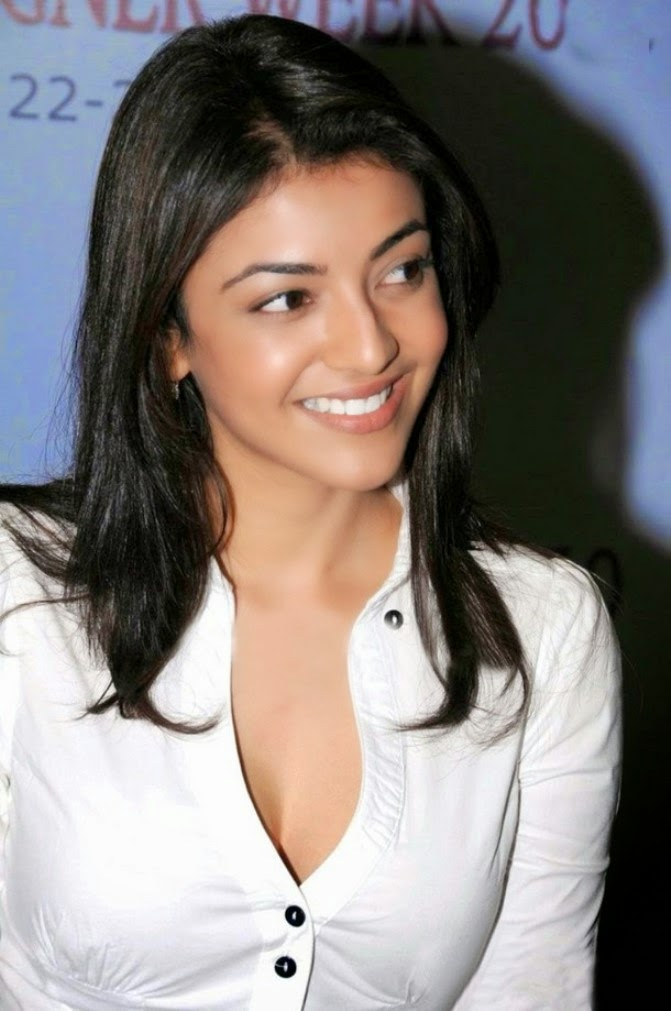 kajal aggarwal cleavage pics