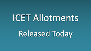 ICET Seat Allotments Released for MBA and MCA Admissions News