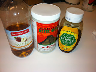 Ingredients for the Natural Face Mask