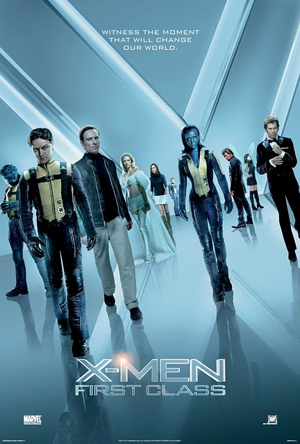 X-Men First Class (2011) (In Hindi) SL VBB - James McAvoy, Laurence Belcher, Michael Fassbender, Bill Milner, Kevin Bacon, Rose Byrne, Jennifer Lawrence