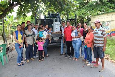 Alcaldía Alberto Adriani donó transformadores a comunidades de Caño Frio y Villa de Los Ángeles