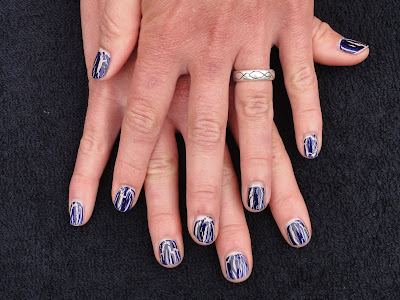 Beth Fricke, celebrity manicurist, celeb manicurist, Celebrity Manicurist Beth Fricke, mani, manicure, nail, nails, nail polish, polish, lacquer, nail lacquer, OPI, OPI Navy Shatter, OPI Pirates of the Caribbean, OPI Steady As She Rose, OPI Pirates of the Caribbean Steady As She Rose, OPI nail polish, OPI polish, OPI mani, OPI manicure, OPI nails