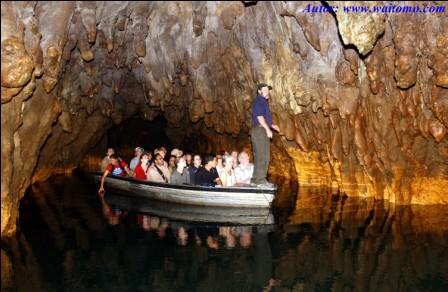 Cuevas Waitomo en Nueva Zelanda