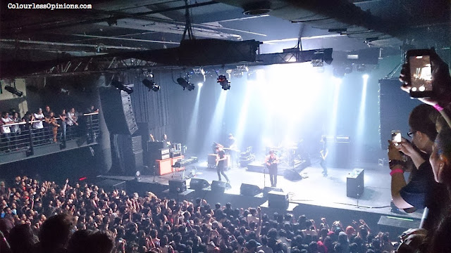 Foals at Upfront Arena KL Live with Malaysian crowd