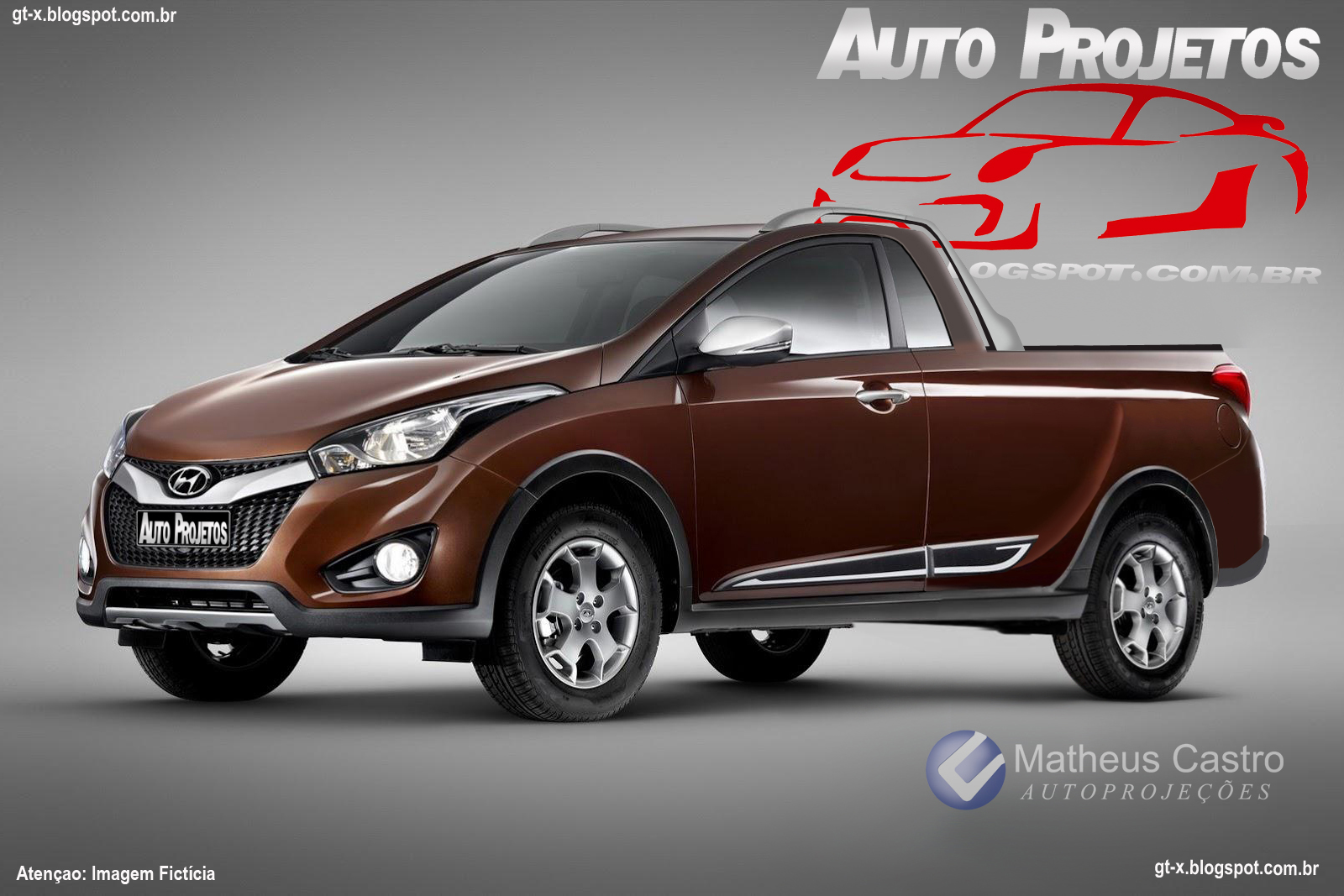 Auto Projetos Hyundai Hb 20 Picape Hb 20 Up