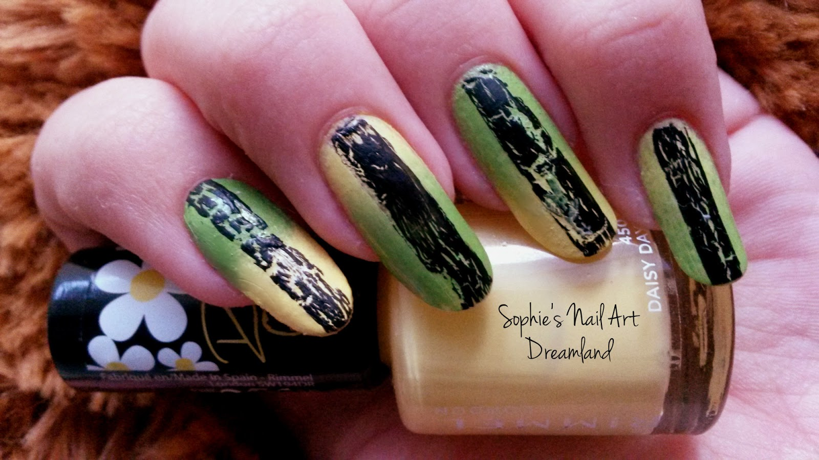 Nail Art Marathon - 8.Gradient | Sophie\'s Nail Art Dreamland