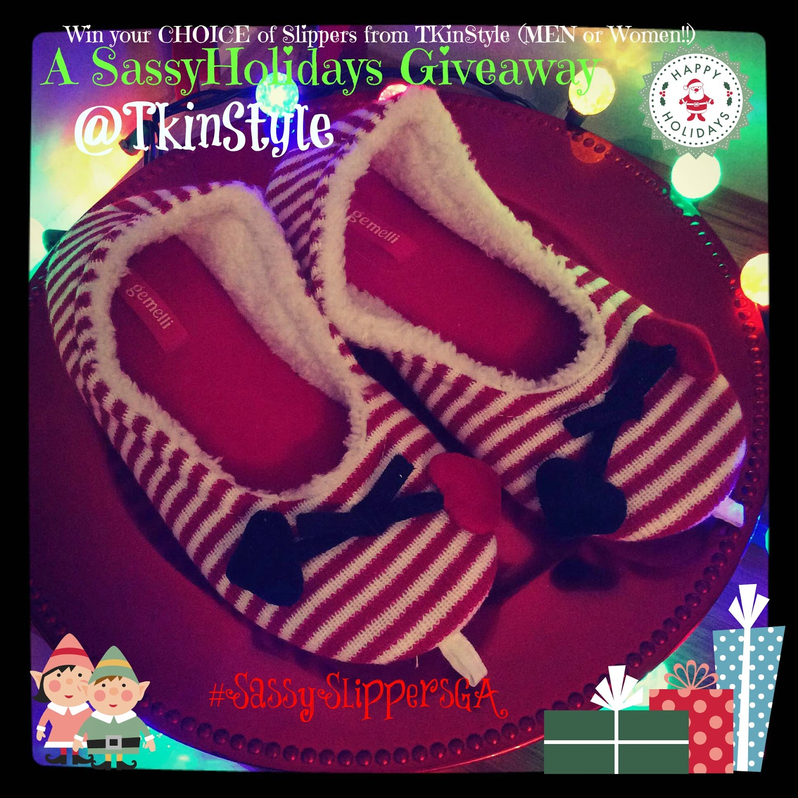 TKInStyle Slipper Giveaway