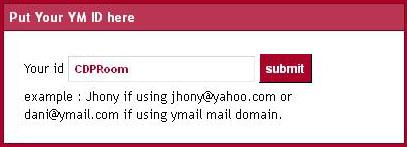 Buat Icon Yahoo Messenger di Blog