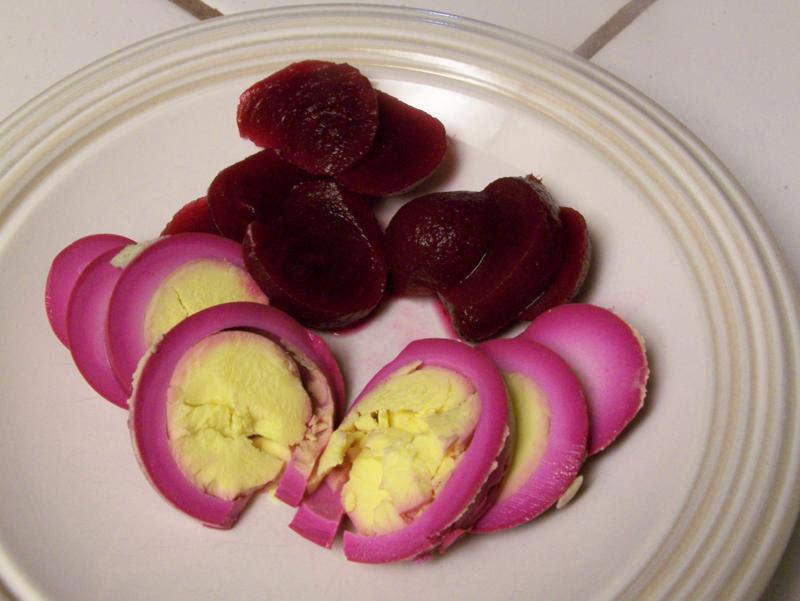 Near to Nothing: Red Beet Eggs