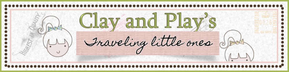Clay And Play's Traveling Little Ones