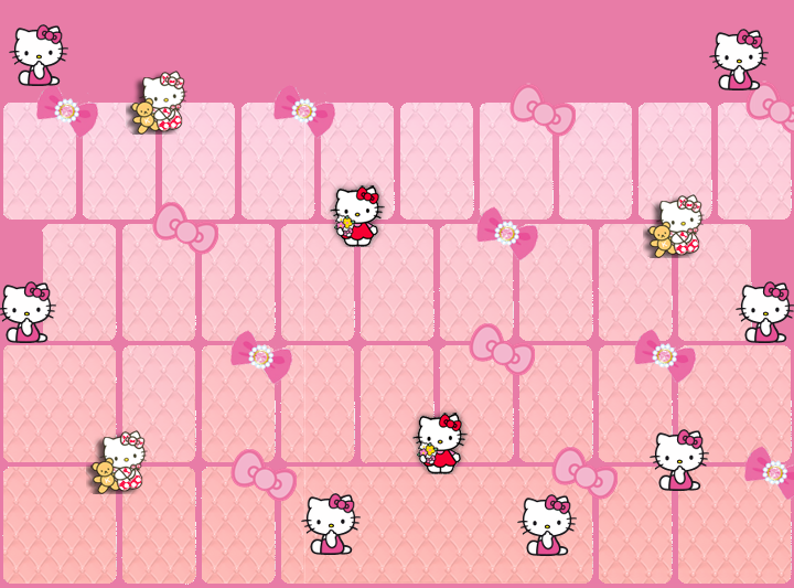 Hello Kitty Keyboard Skin go Keyboard Hello Kitty Skins