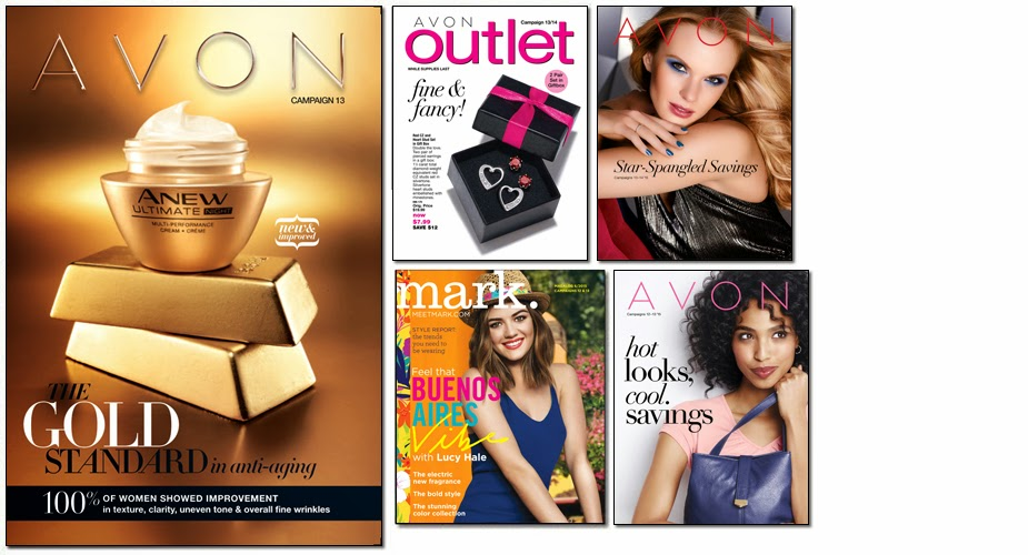 AVON mark Catalogs feature trendy and fashionable cosmetics, skincare, fragrances, clothing and jewelry for teens.