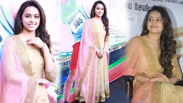 Sri Divya Latest HD images At Eetti Tamil Movie Audio Launch