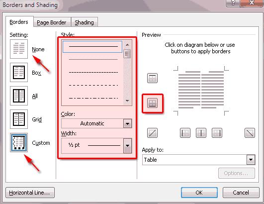 Cara membuat garis bawah Kop Surat di MS Word | indra-av