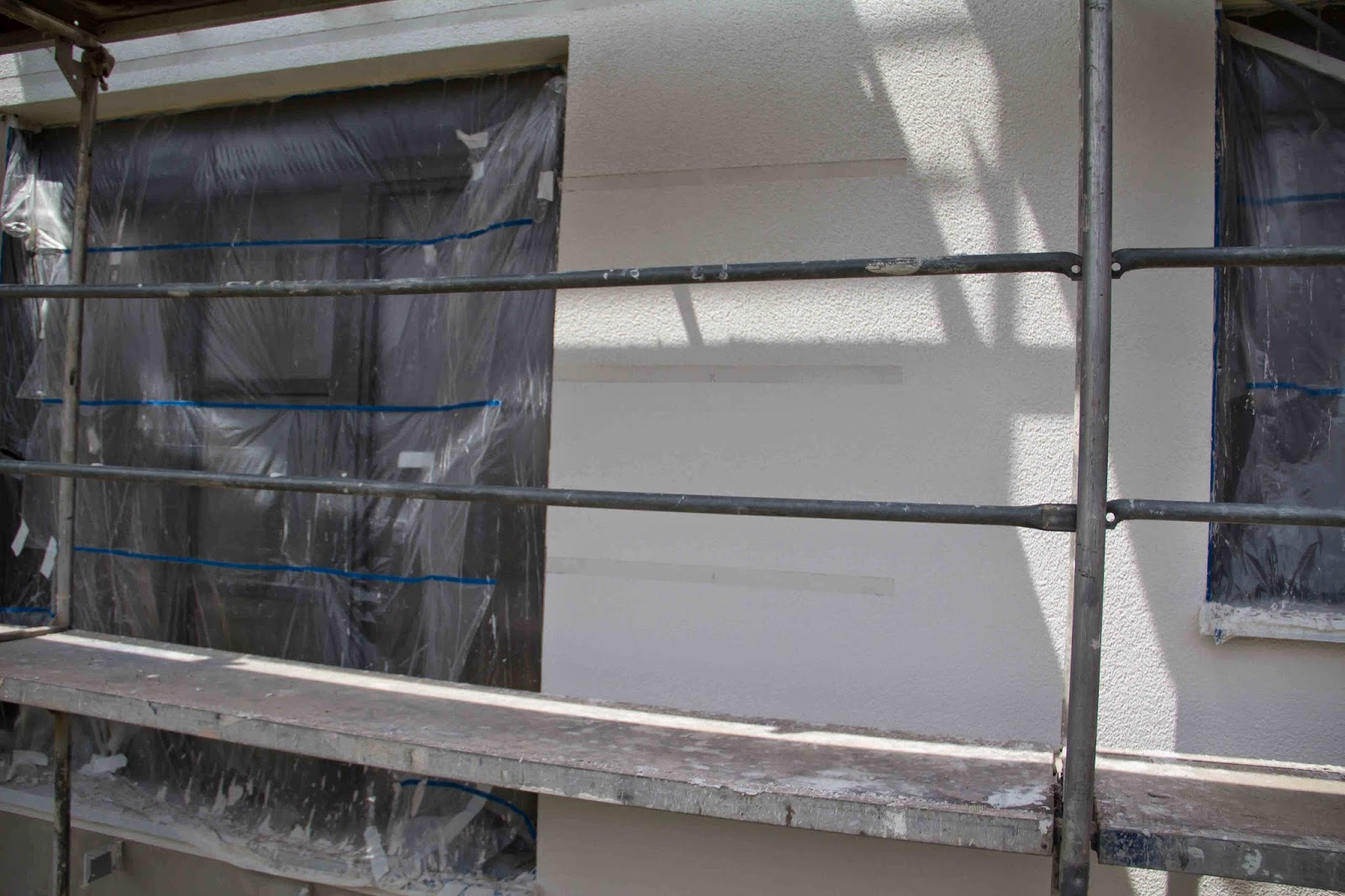 flederhaus strukturputz au en komplett fertig. Black Bedroom Furniture Sets. Home Design Ideas