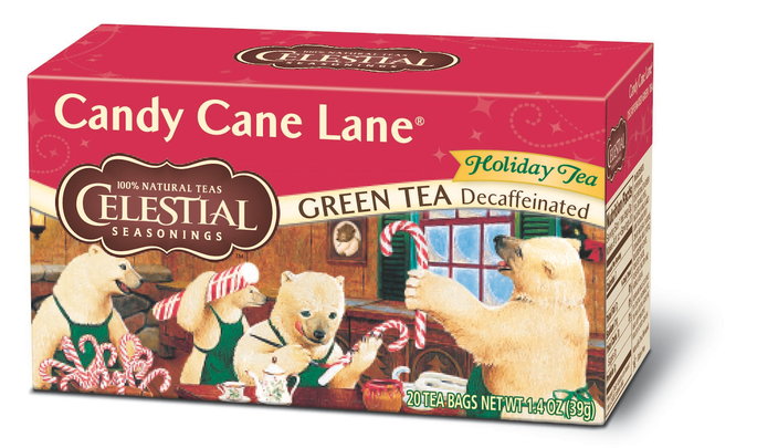 Candy Cane Green Tea