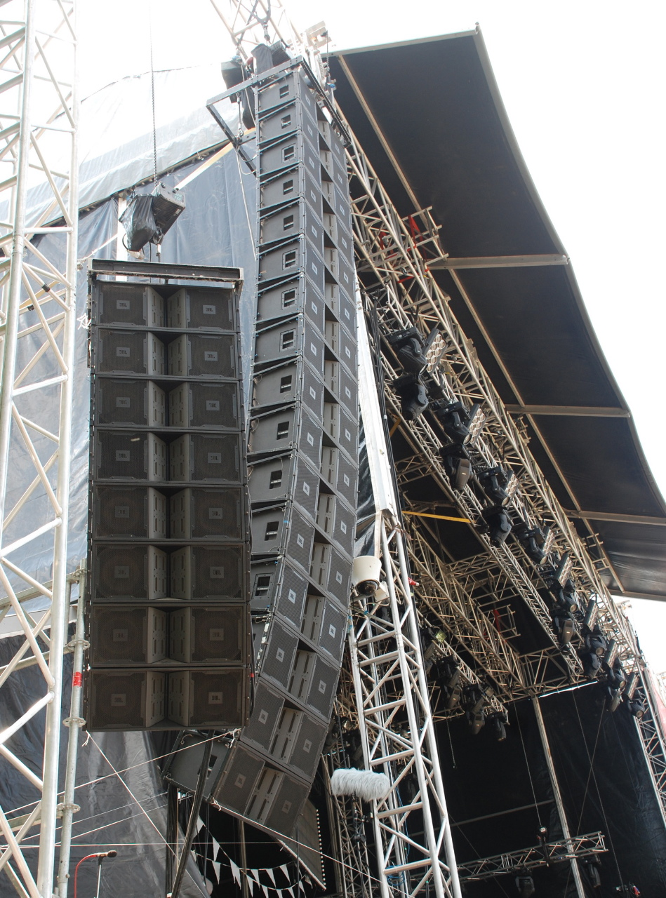 Harman S Jbl Vertec 174 Line Arrays To The Fore At Serbia S