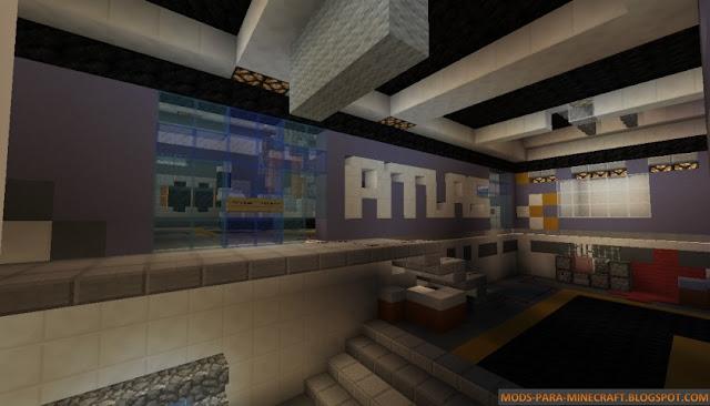 mapa exo zombie en  Minecraft