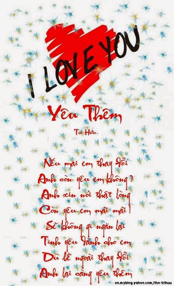 nhunex bài thơ ý nghĩa về tình yêu