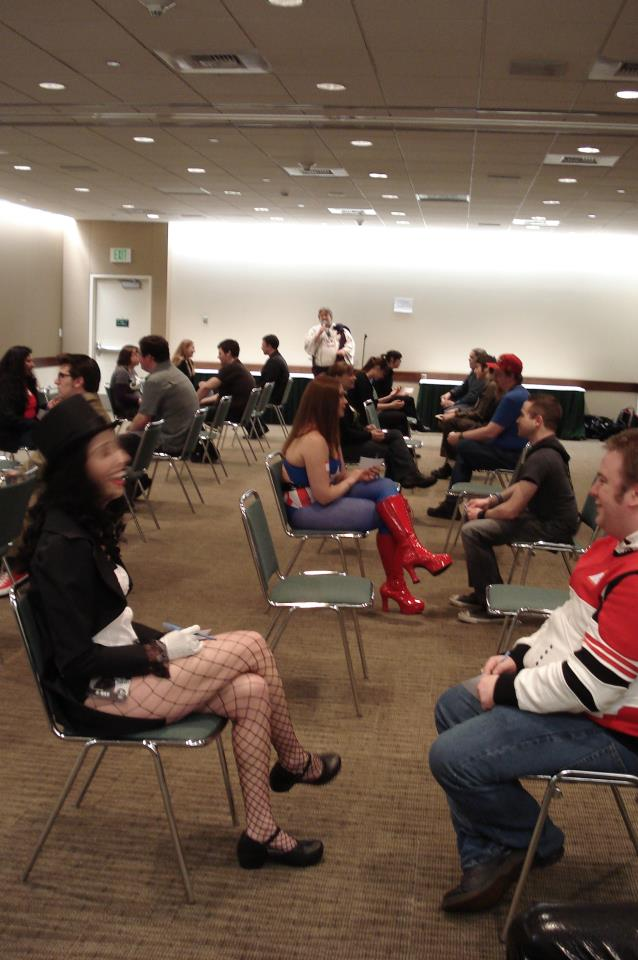 sci fi speed dating megacon We also pride ourselves on offering more special events and entertainment that almost any other con sci-fi speed dating-- register at their booth.