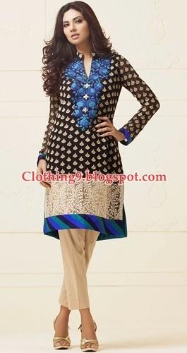 Embroidered Pret Wear Dresses