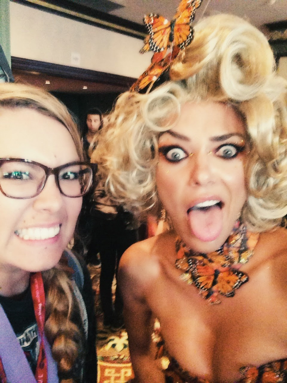 Courtney Tomesch Adrianne Curry HerUniverse Fashion Show San Diego Comic Con