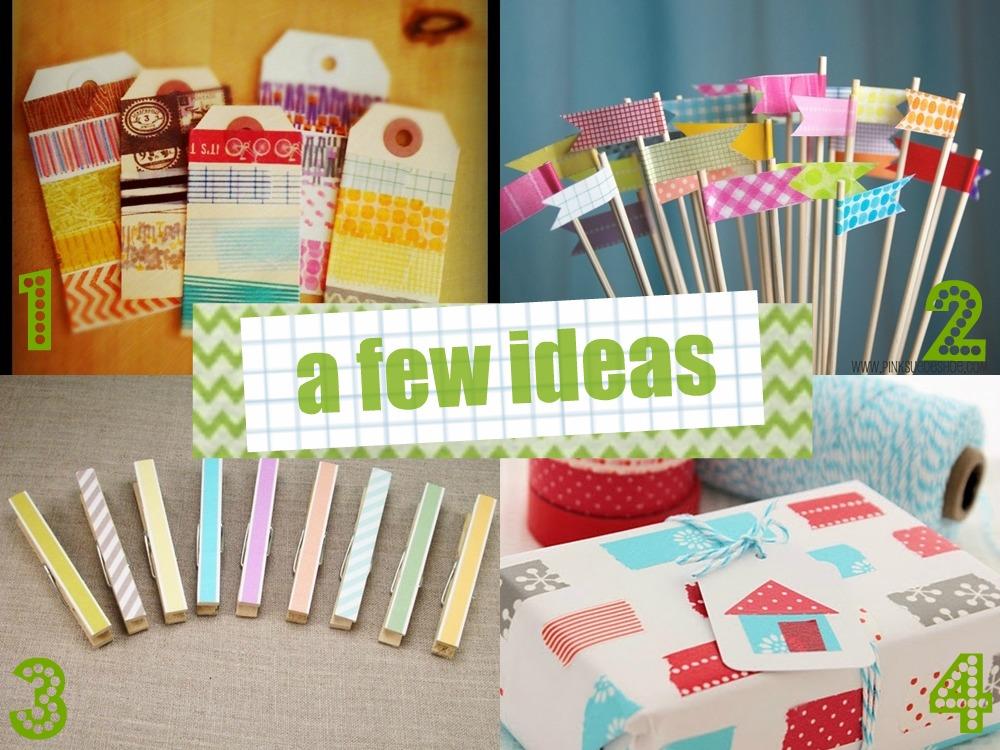 1000 images about washi tape ideas on pinterest washi - Washi tape ideas ...