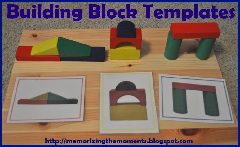 memorizing the moments block building templates