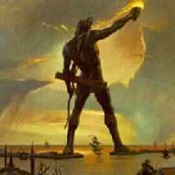 an evaluation of the magnificent colossus of rhodes Colossus of rhodes – 7 ancient wonders of the world the magnificent greek designed sculpture stood about 110 feet tall atop a 50-foot platform it was a massive statute of a male figure built in 280bc.