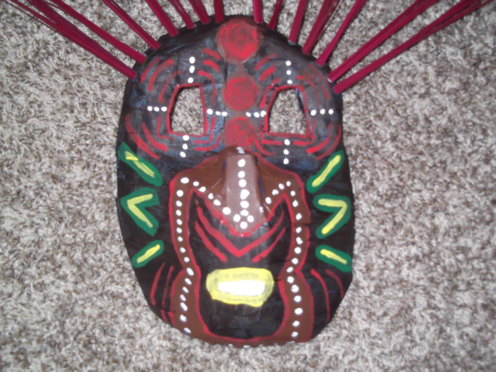 Laurel's Lovely Artwork for Art 3700: African Milk Jug Mask