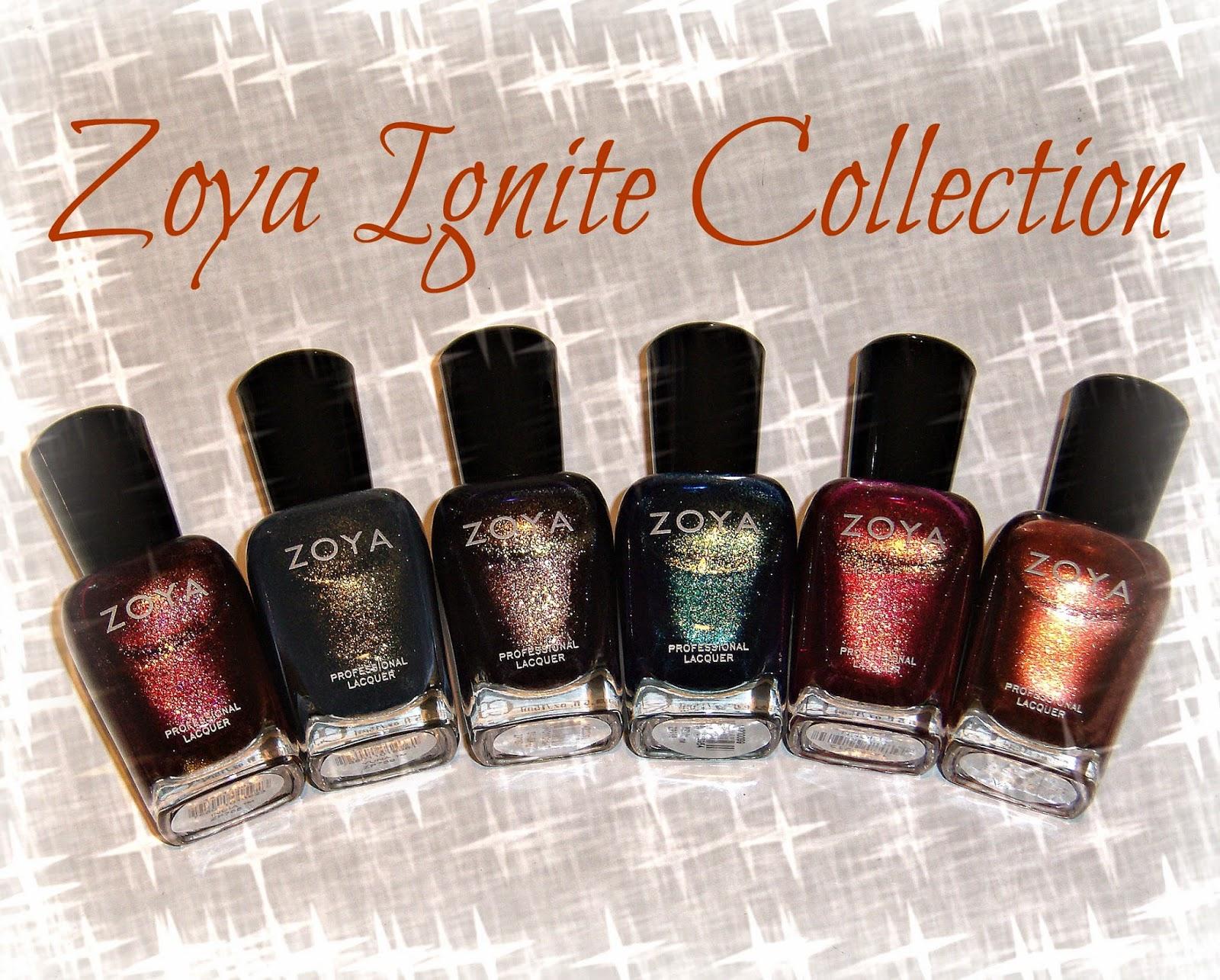 Nail Polish Collections Fall 2014 August 2014 Zoya Nail Polish