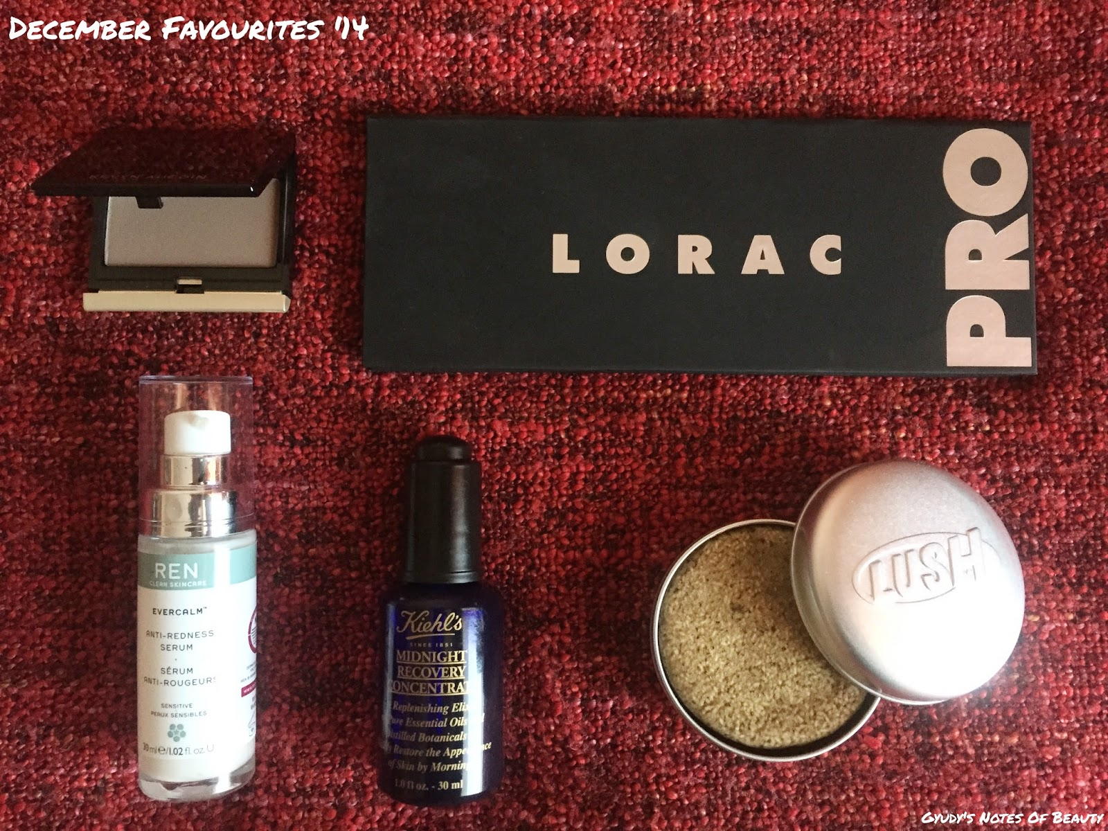 Kevin Aucoin Lorac Lush Ren Kiehl's Pro Palette Sculpting Powder Midnight Recovery Redness Copperhead