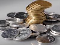 uang receh kembalian belanja
