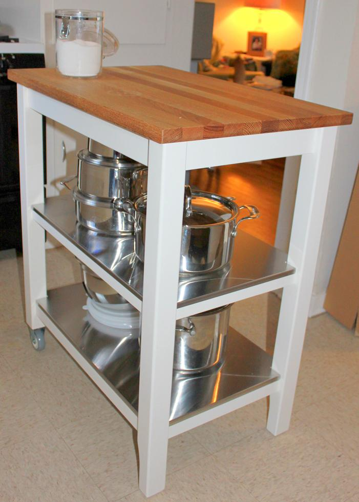 ultimately we really love butcher block and since we have white cabinets  and wanted something that could roll we decided on the stenstorp kitchen  cart - Stenstorp Kitchen Island. Country Kitchen With Exposed Beam